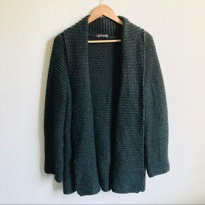 Elsamanda Anthro. Chunky Knit Cardigan sweater
